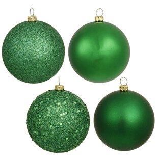 Green Christmas Ornaments You Ll Love In 2019 Wayfair