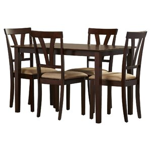 Donald 5 Piece Dining Set by Andover Mills