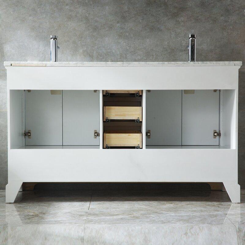 Strange Crewkerne 72 Double Sinks Modern Bathroom Vanity Set Download Free Architecture Designs Lectubocepmadebymaigaardcom