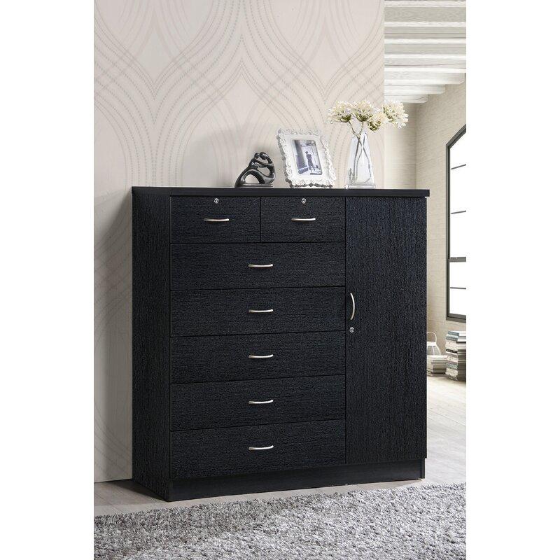 Popular Zipcode Design Roselyn 7 Drawer Combo Dresser & Reviews | Wayfair IF51