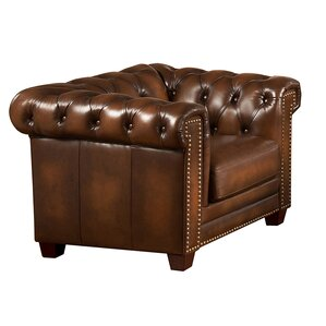 Hickory Chesterfield Chair by Amax
