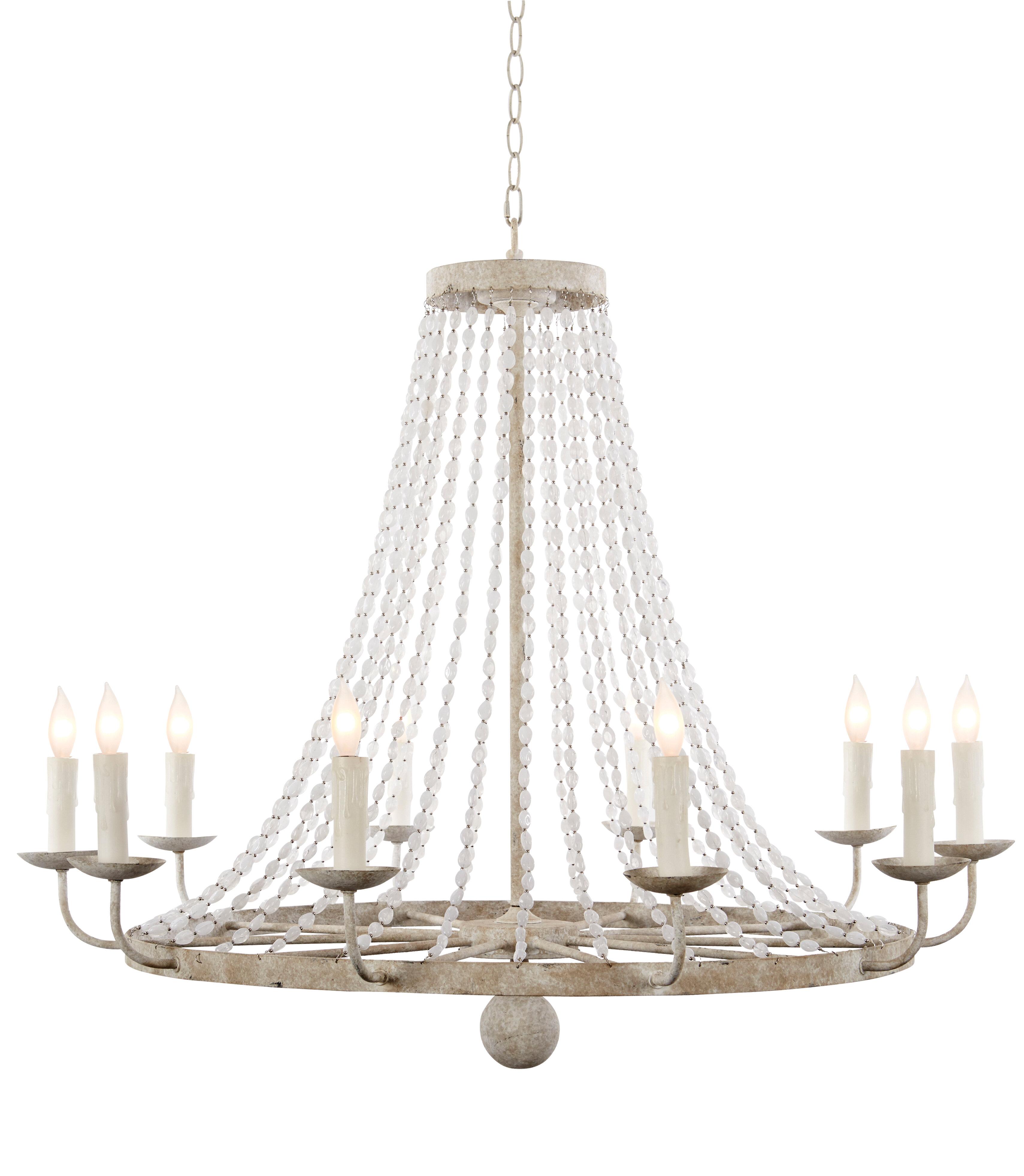 Aidan gray 12 light chandelier reviews wayfair
