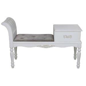 Gepolsterte Schlafzimmerbank mit Staufunktion von Castleton Home