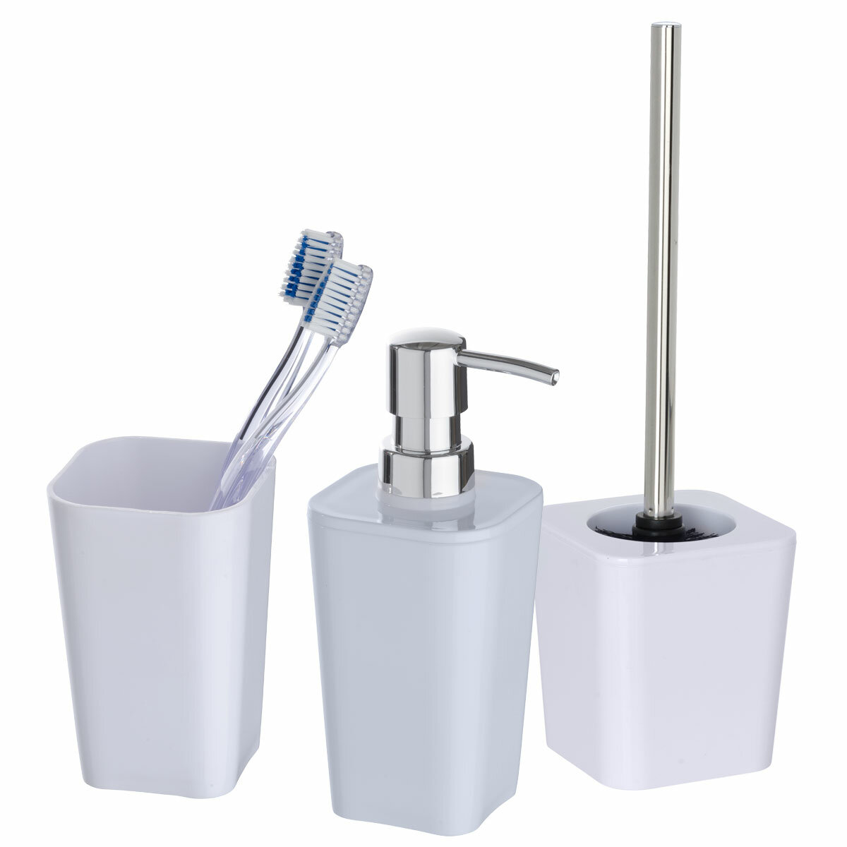 Wenko Candy 3 Piece Bathroom Accessory Set | Wayfair.co.uk