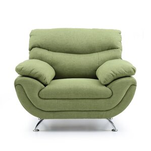 Xamiera Upholstered Armchair by Orren Ellis