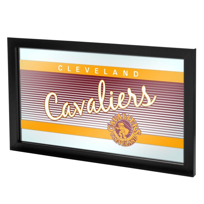 100% authentic e8138 c7a34 NBA Hardwood Classics Framed Logo Wall Mirror