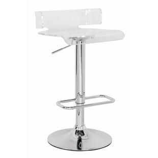 Kelsie Adjustable Height Swivel Bar Stool