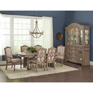 George 7 Piece Dining Table Set by One Allium Way