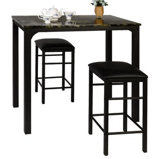 Lillard 3 Piece Breakfast Nook Dining Set