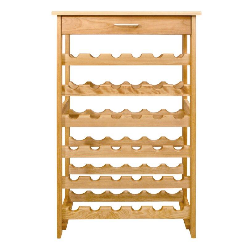 Catskill Craftsmen 36 Bottle Floor Wine Rack Amp Reviews