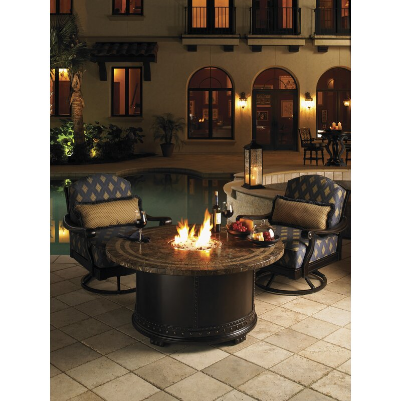 Cool Kingstown Sedona Steel Natural Gas Fire Pit Table Download Free Architecture Designs Pushbritishbridgeorg