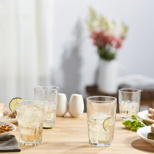 3e1060b661e7 Libbey Stonehenge 30-piece Glass Assorted Glassware Set