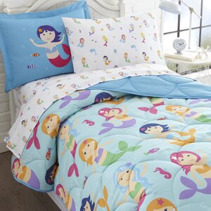 Mermaids Bed-In-a-Bag Set