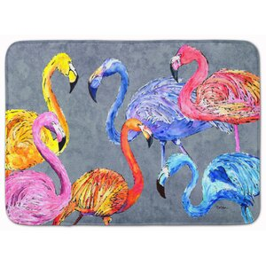Flamingo Six Senses Memory Foam Bath Rug