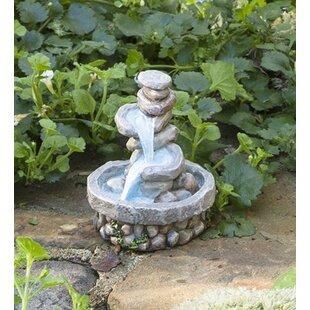 Miniature Stone Fountain Fairy Garden
