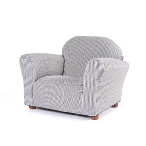 Roundy Gingham Kid's Club Chair