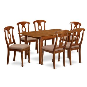 Picasso 7 Piece Dinning Set by East West ..