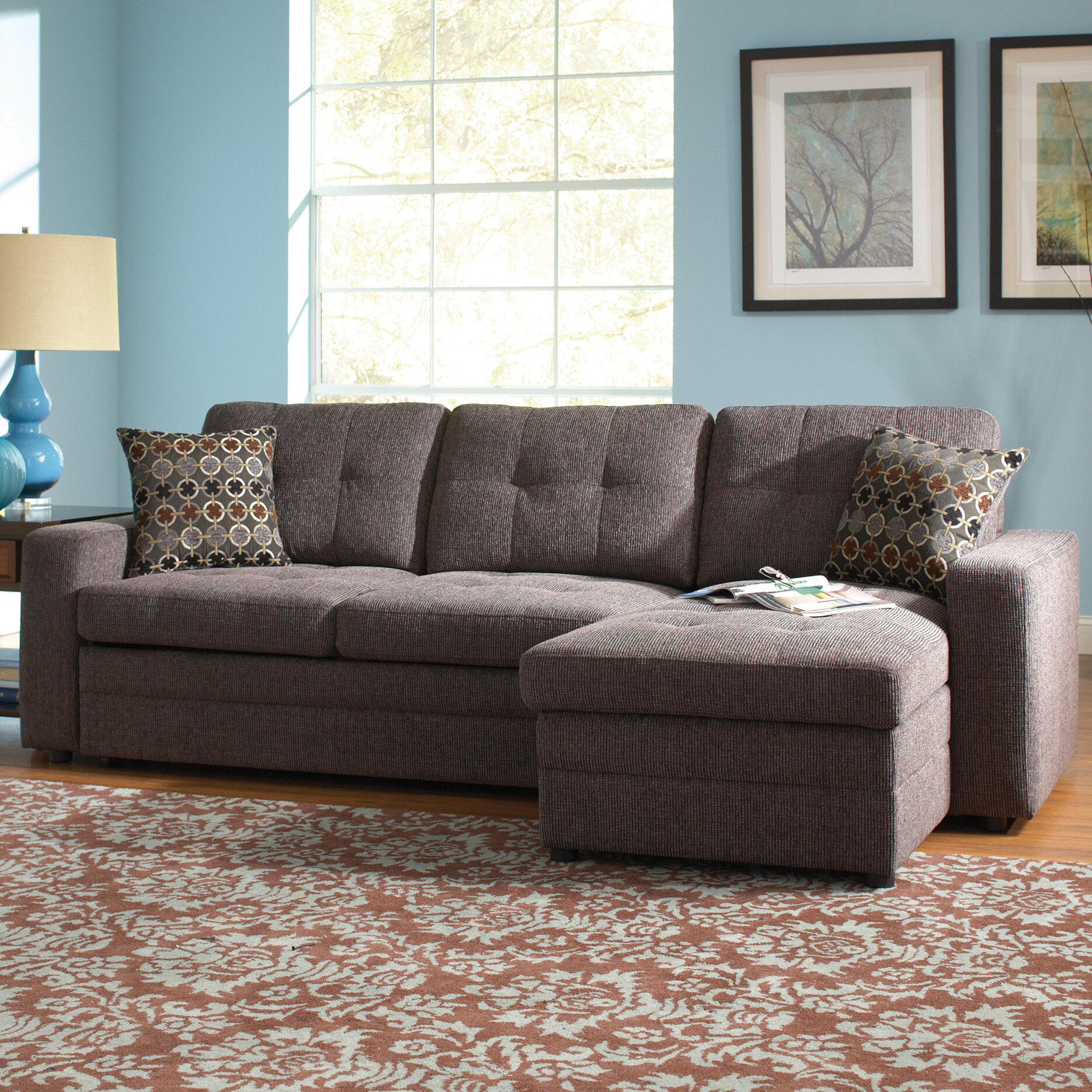 gus sectional pull of elegant awesome coaster sofa with out bed