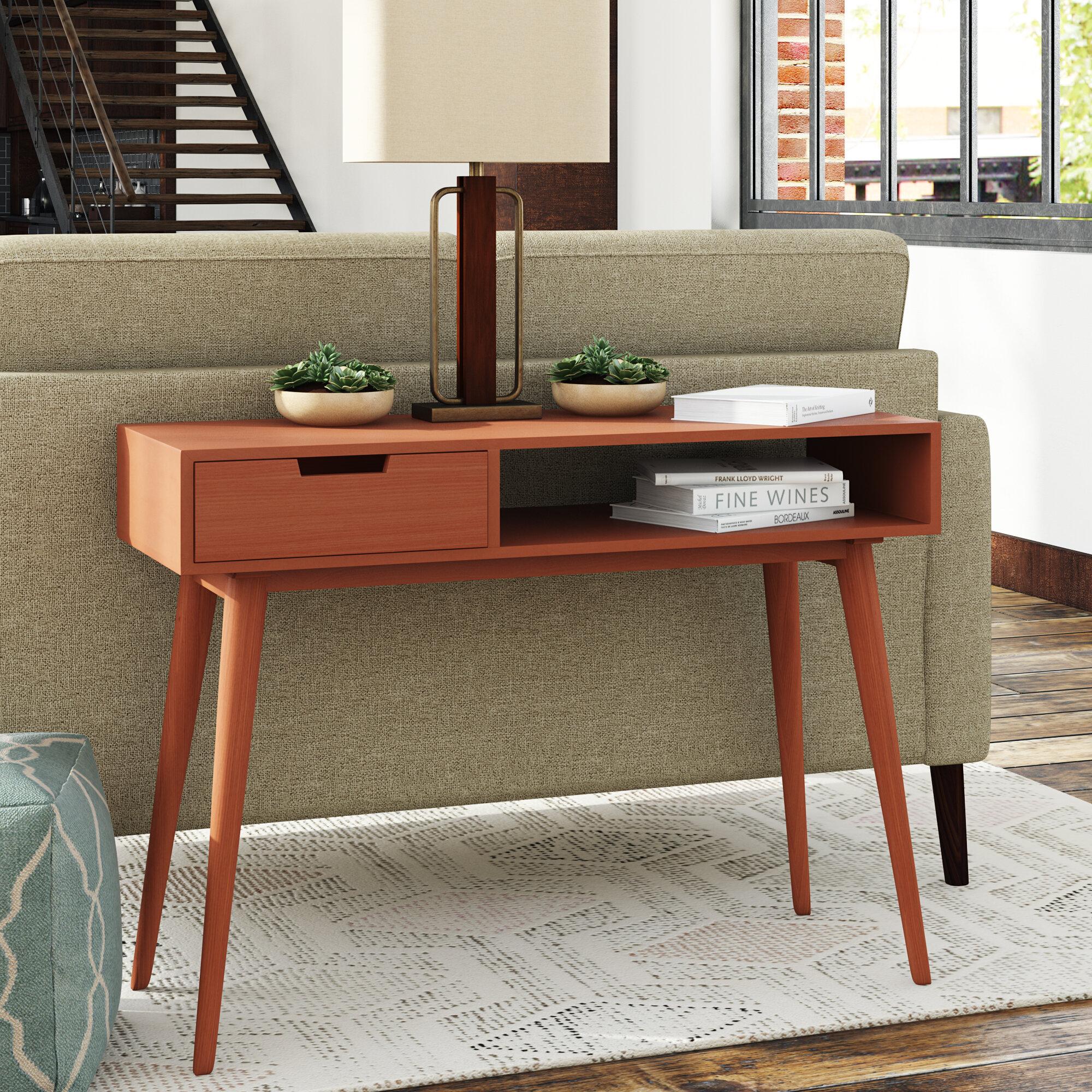 Mid-Century Modern Console Tables You\'ll Love | Wayfair