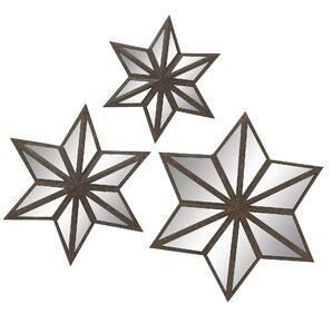 Star Mirror Wall Decor 20 x 40 mirror | wayfair