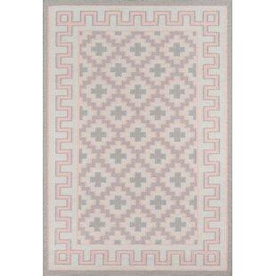 Thompson Brookline Hand Woven Wool Pink Area Rug