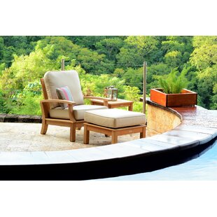 Monterey Teak Patio Chair with Sunbrella Cushions