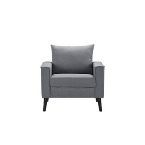 Port Pirie Linen Armchair by Varick Gallery