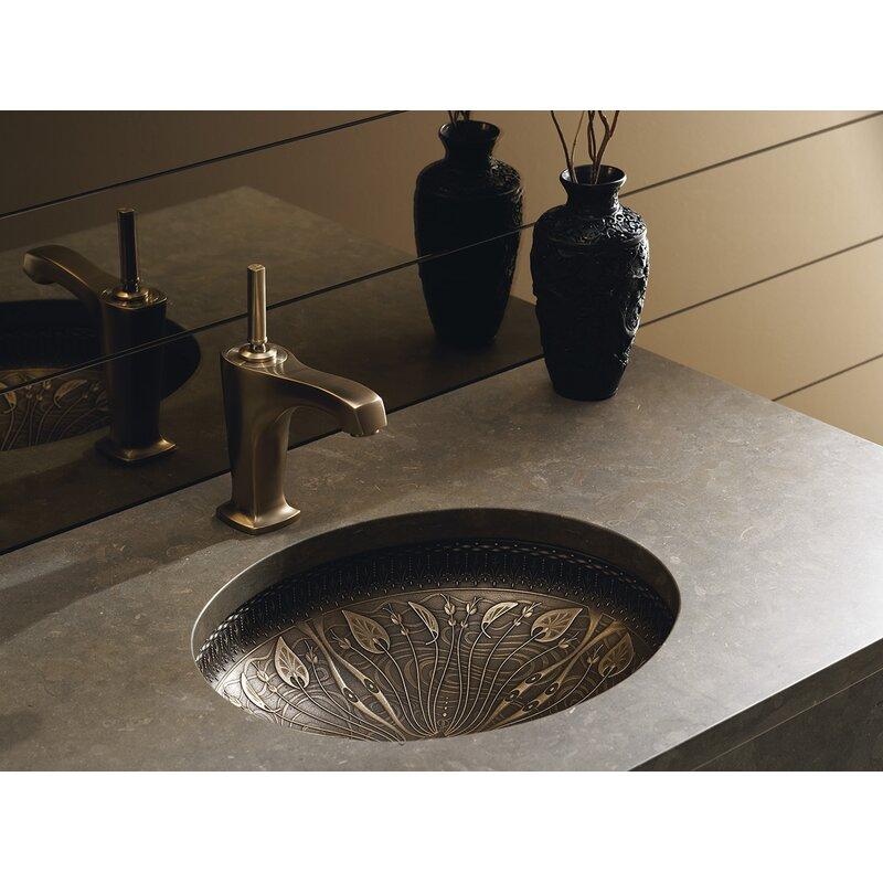 K-14297-MP1 Kohler Briolette Glass Circular Vessel Bathroom Sink ...
