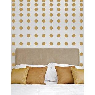 Metallic gold wall decals wayfair 2 60 dots metallic dots wall decal gumiabroncs Choice Image