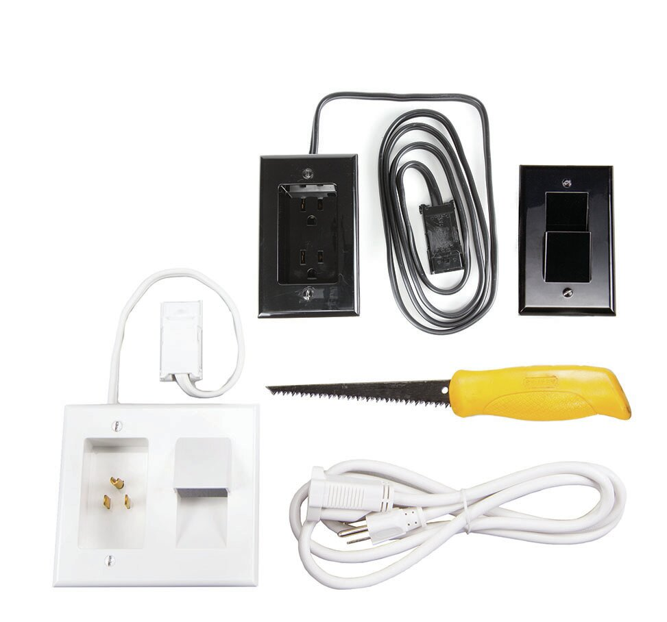 OmniMount In-Wall Power/Cable Management System | Wayfair