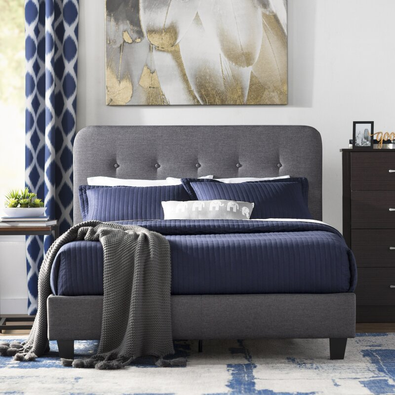 Heredia Upholstered Platform Bed