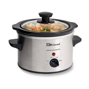 Gourmet 1.5-Quart Mini Slow Cooker