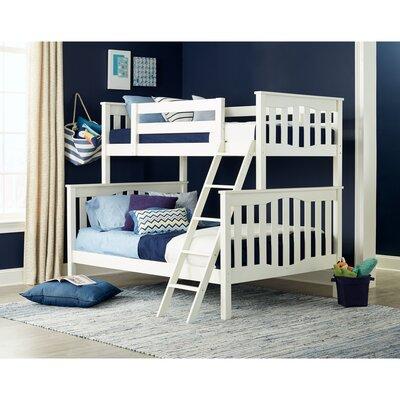 Seneca Twin over Full Bunk Bed Epoch Design Color: White