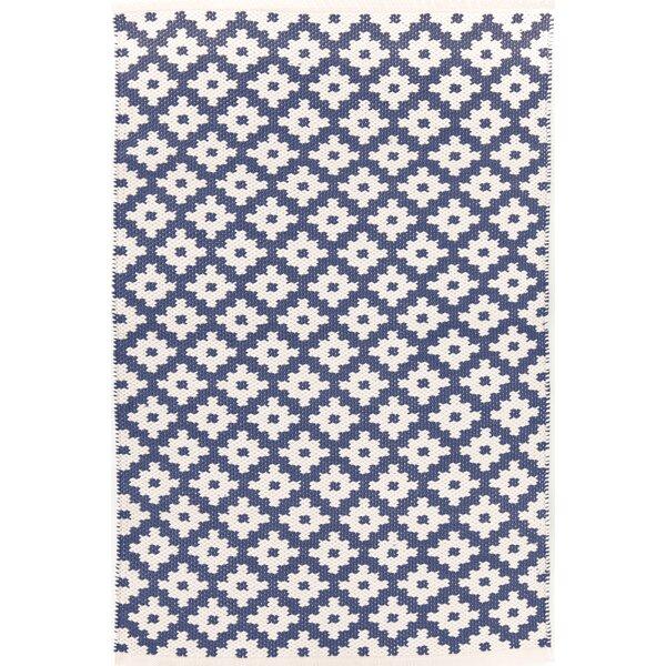 Dash And Albert Rugs Samode Hand Woven Blue Indoor/Outdoor Area Rug U0026  Reviews | Wayfair