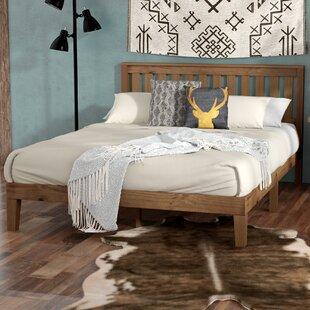 Rustic Beds You'll | Wayfair on
