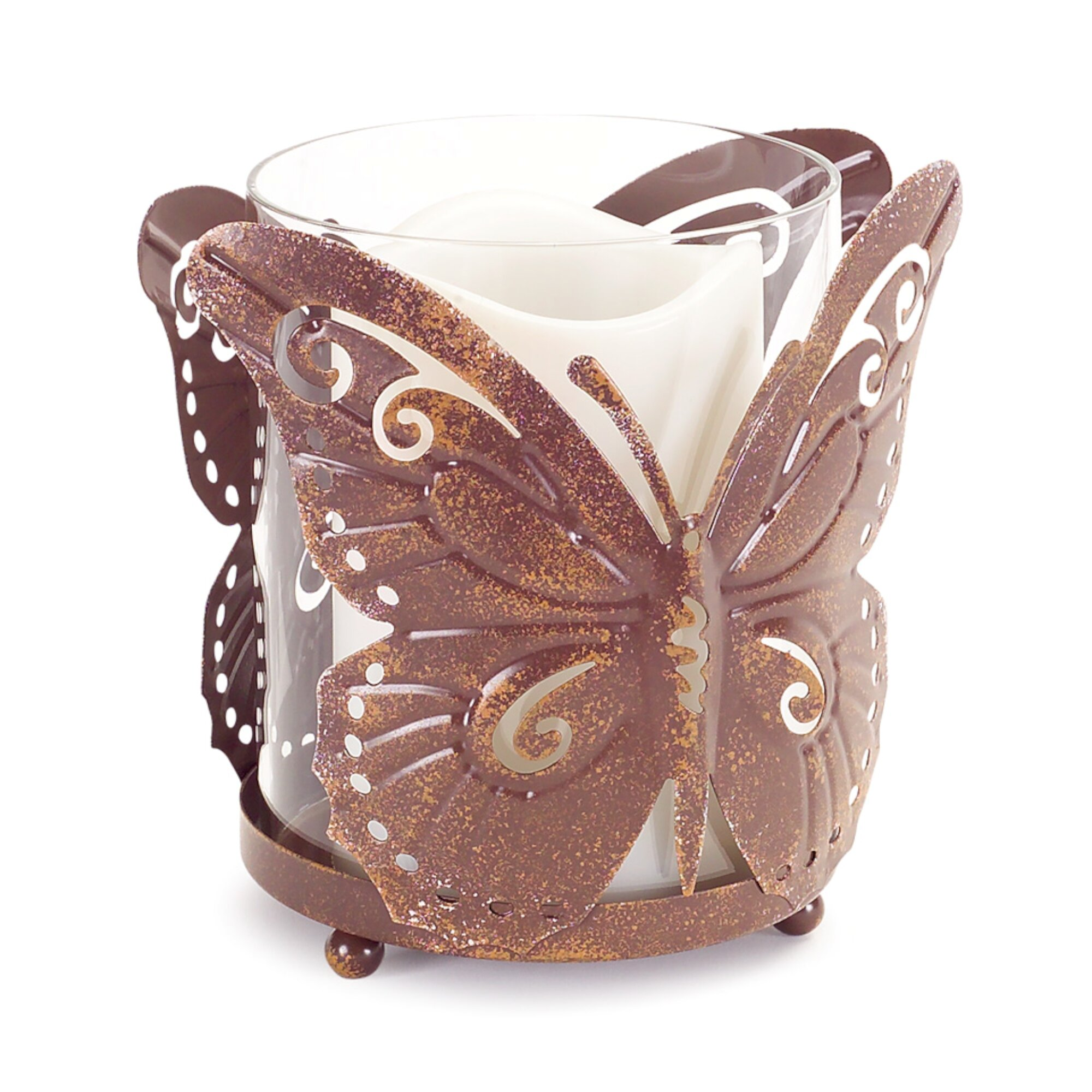August Grove Valerton Butterfly Metal Hurricane