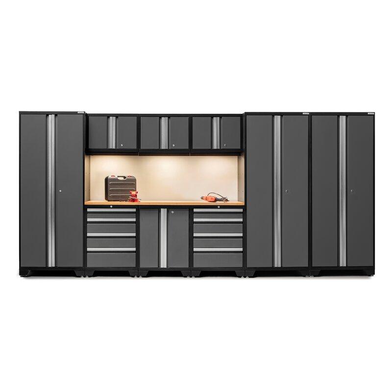 Delicieux Bold 3.0 Series 10 Piece Garage Storage Cabinet Set With Worktop