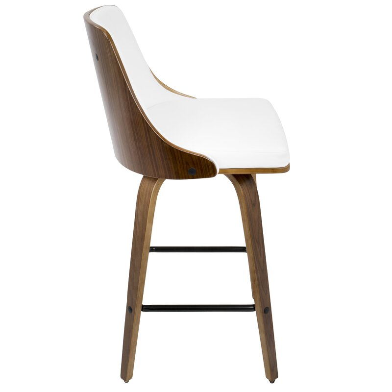 Langley Street Alexa Counter 26 25 Quot Swivel Bar Stool