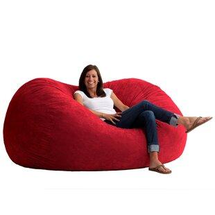 Red Bean Bag Chairs You ll Love  a84607d8b0561