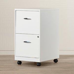 gigi 2 drawer mobile file cabinet