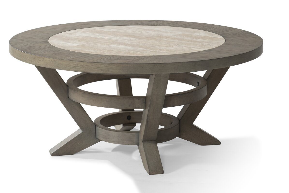 Round coffee tables youll love wayfair geotapseo Choice Image