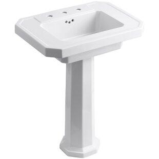 Small Corner Pedestal Sink Wayfair