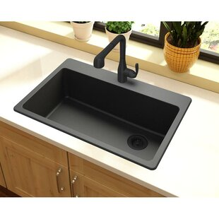 black kitchen sinks you ll love wayfair
