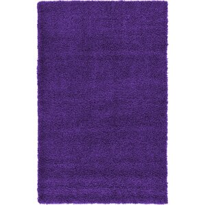 handwoven purple area rug