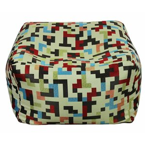 Chaida Fabric Pouf by Lati..