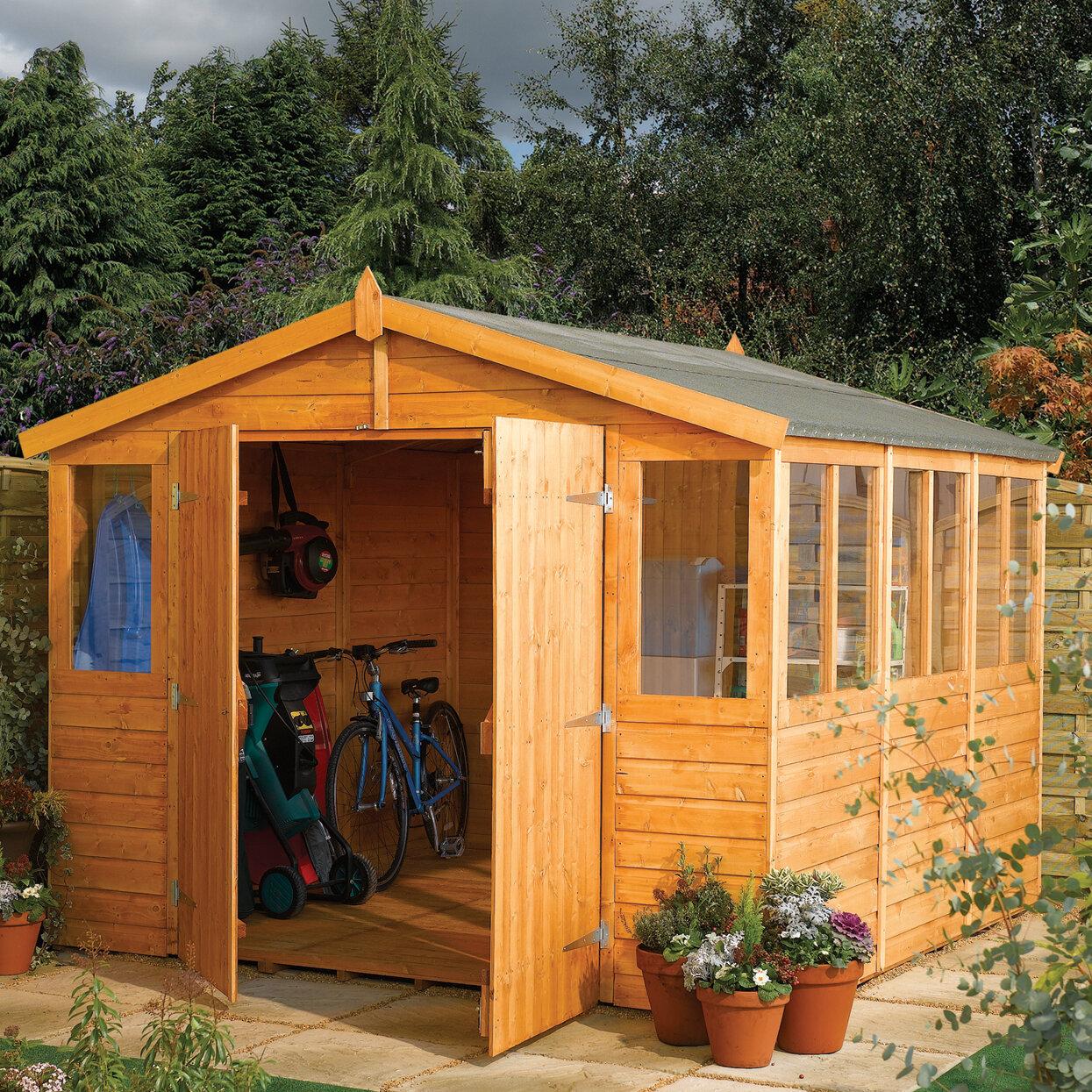 Image result for wooden shed