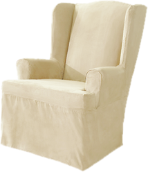 Delightful Wing Chair Slipcovers