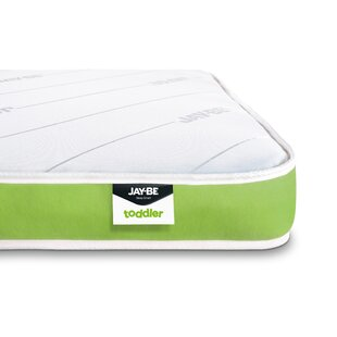 Anti-allergy Foam Free Coil Sprung Toddler Mattress by Jay-Be