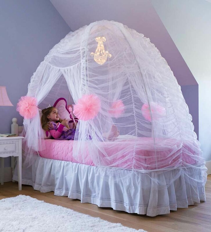 Hearthsong Fairy Tale Bed Tent Amp Reviews Wayfair