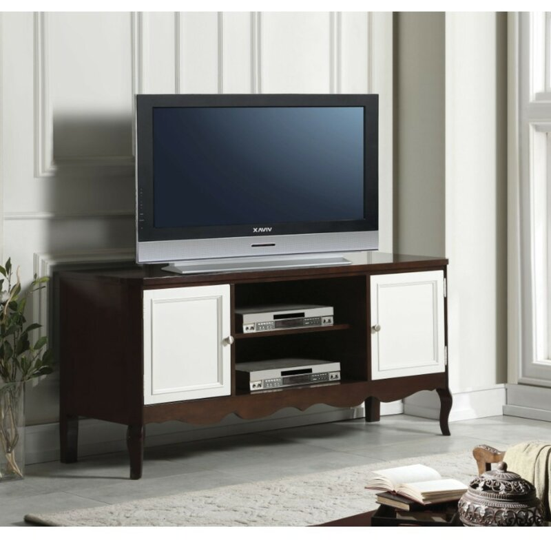 Alcott Hill Conklin Wooden Tv Stand For Tvs Up To 60 Wayfair